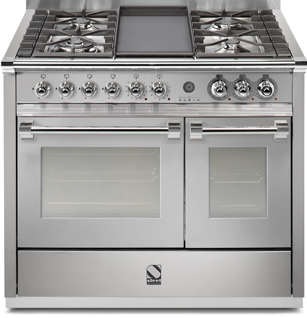 cucina a libera installazione in acciaio inox ascot 100 by steel - Steel Cucine Prezzi