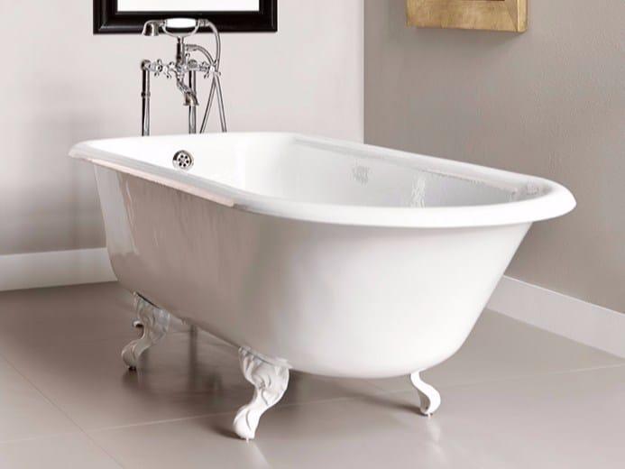 Cast iron bathtub on legs ASCOTT - BATH&BATH