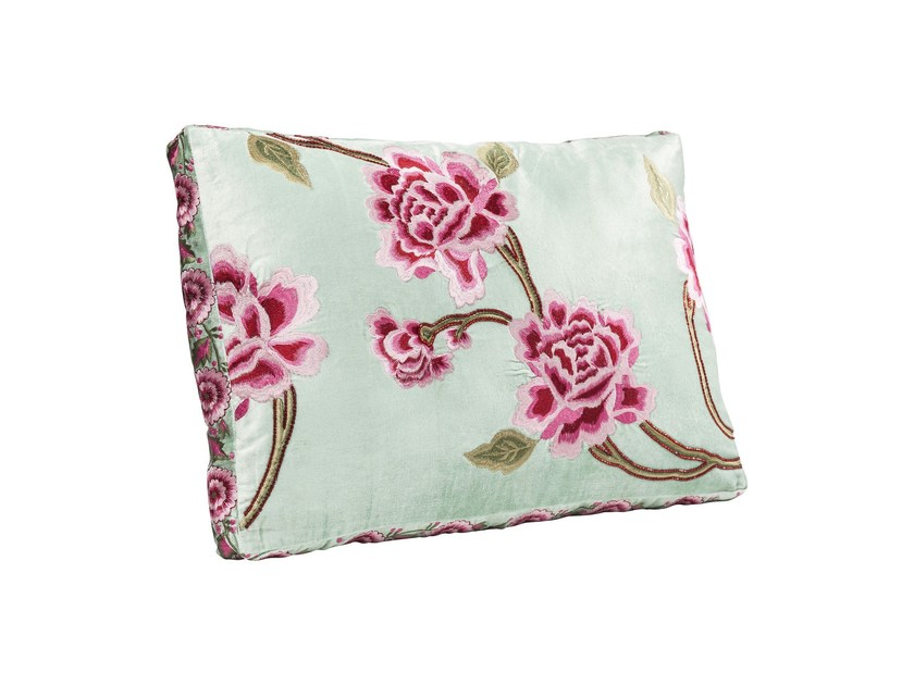 Rectangular fabric cushion ASIAN GARDEN - KARE-DESIGN