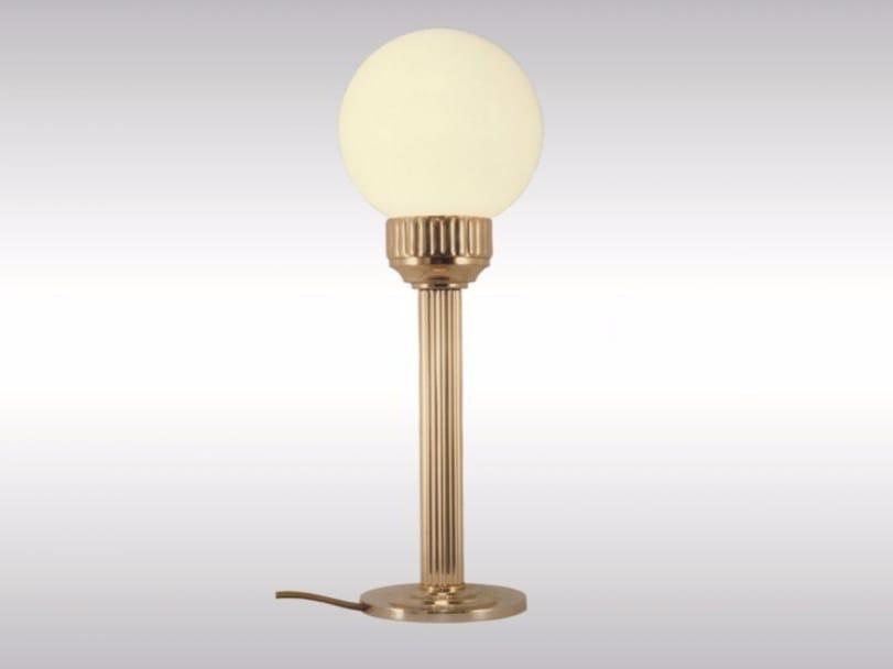 Brass table lamp AST4 | Table lamp - Woka Lamps Vienna