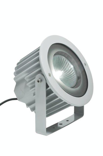 Halogen adjustable aluminium Outdoor floodlight ASTER F.4072 - Francesconi & C.