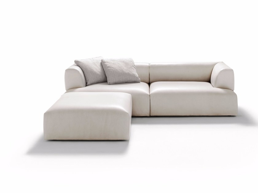 Sectional fabric sofa ATALANTE by DE PADOVA