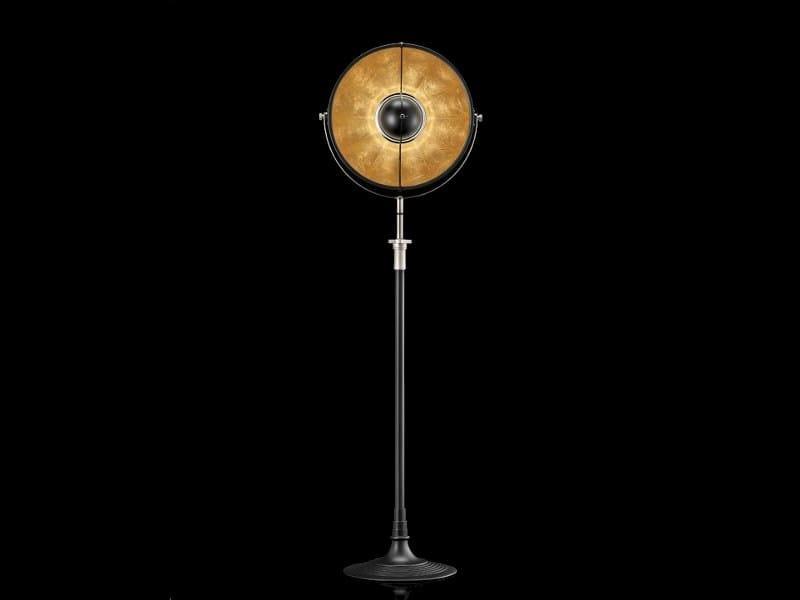 Indirect light adjustable floor lamp ATELIER 41 - Fortuny® by Venetia Studium