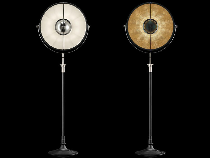 Indirect light adjustable floor lamp ATELIER 51 by Fortuny
