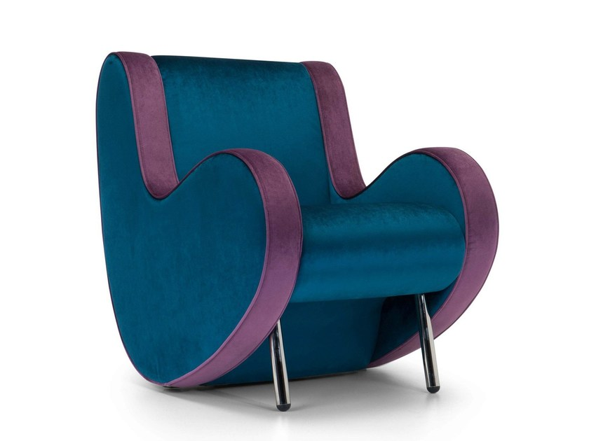 Fabric armchair ATINA | Armchair - Adrenalina