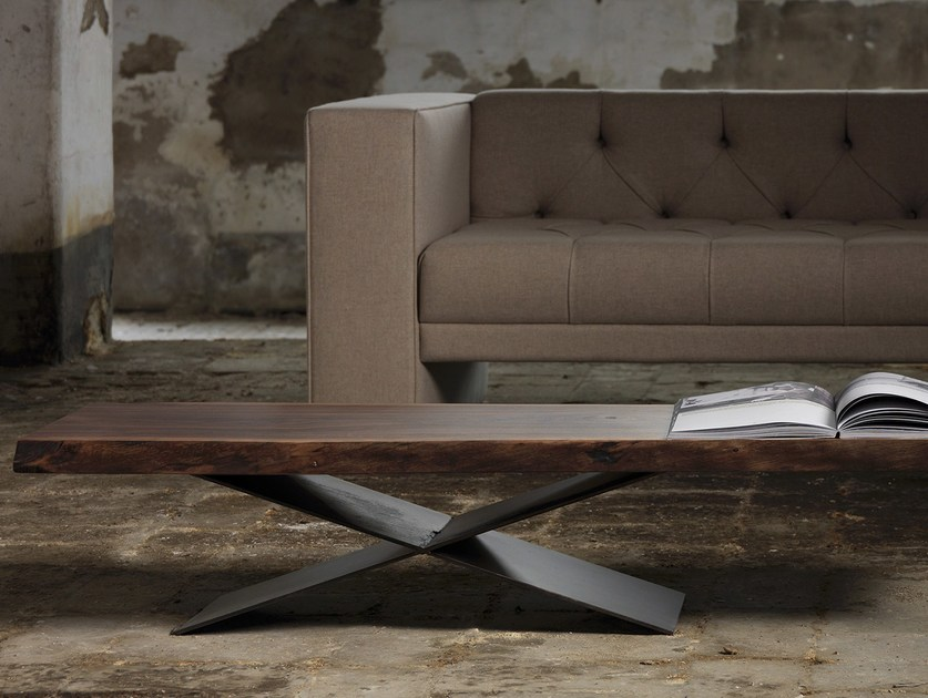 Rectangular coffee table ATKOV - Domingo Salotti