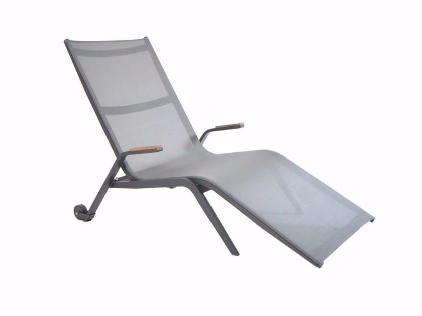 Sedia a sdraio reclinabile in alluminio ATLANTIC   Sedia a sdraio - FISCHER MÖBEL