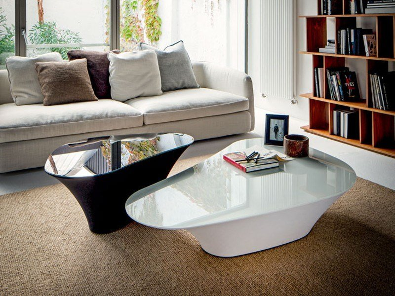 Low crystal coffee table ATOLLO by Cattelan Italia