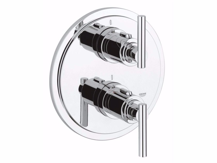 2 hole thermostatic shower mixer ATRIO CLASSIC JOTA | Thermostatic shower mixer by Grohe