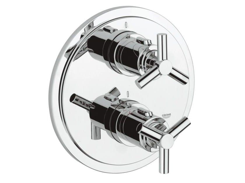 Miscelatore termostatico per doccia con piastra ATRIO CLASSIC YPSILON | Miscelatore termostatico per doccia a 2 fori - Grohe