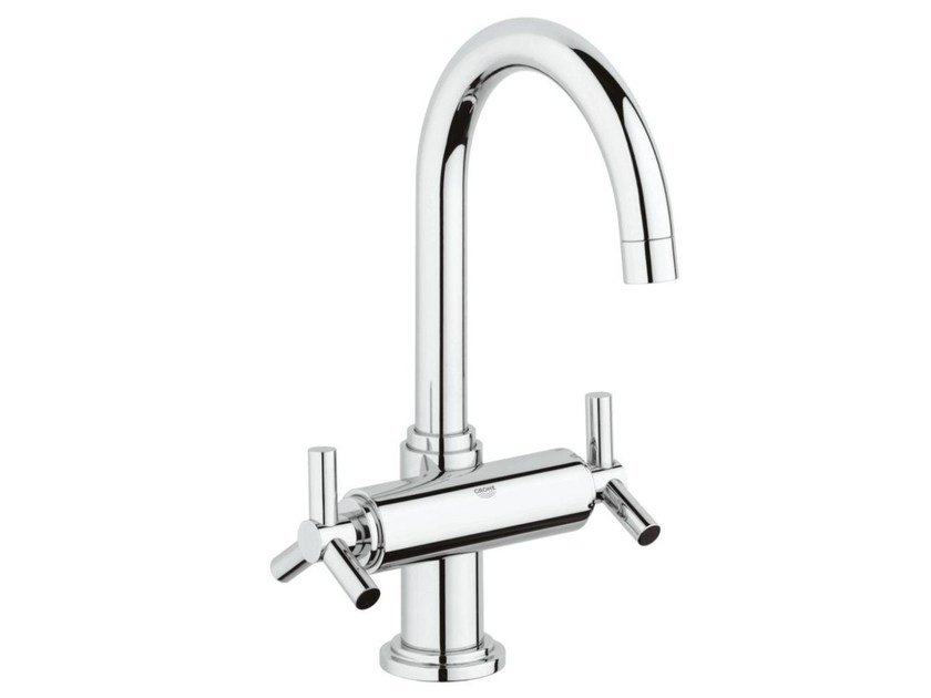 1 hole washbasin tap with adjustable spout ATRIO CLASSIC YPSILON SIZE L | Countertop washbasin tap by Grohe