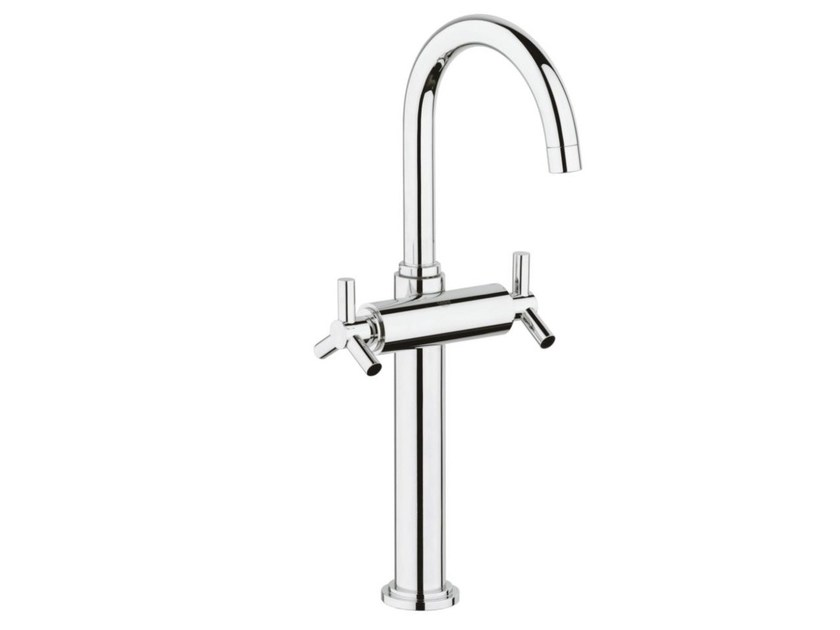 1 hole washbasin tap with adjustable spout without waste ATRIO CLASSIC YPSILON SIZE XL | Countertop washbasin tap by Grohe