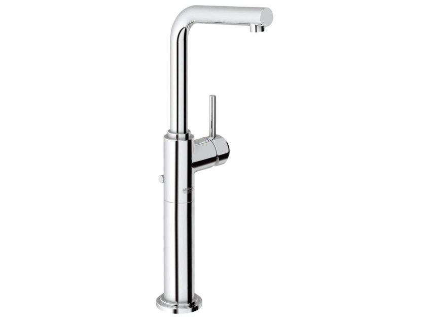 Single handle washbasin mixer with pop up waste ATRIO ONE 7° SIZE XL | Countertop washbasin mixer - Grohe