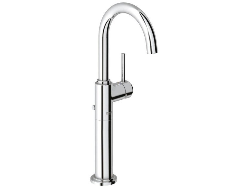 Single handle washbasin mixer with pop up waste ATRIO ONE C SIZE XL | Countertop washbasin mixer - Grohe