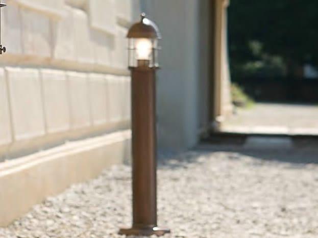 Metal bollard light for Public Areas ATTILA | Bollard light for Public Areas - Aldo Bernardi