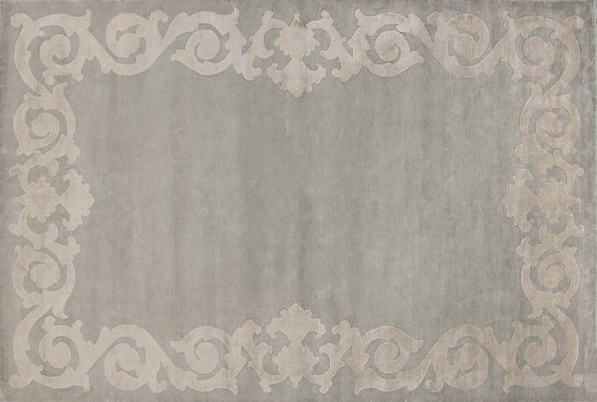 Rectangular custom silk rug AUGUSTIN CREAM by EDITION BOUGAINVILLE