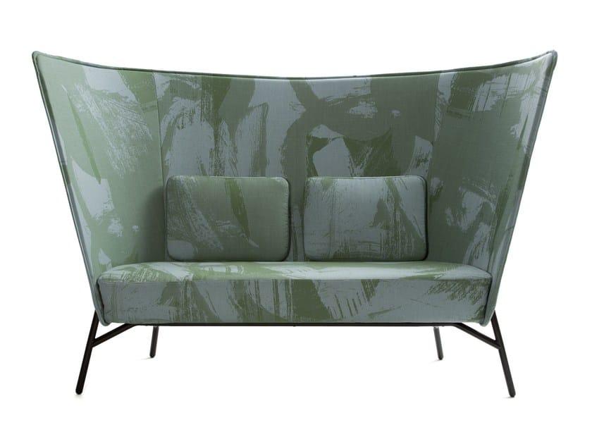 2 seater high-back sofa AURA | High-back sofa - Inno Interior Oy