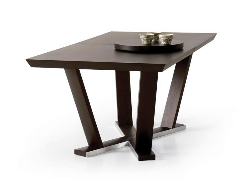 Extending rectangular table AURA | Rectangular table - Potocco