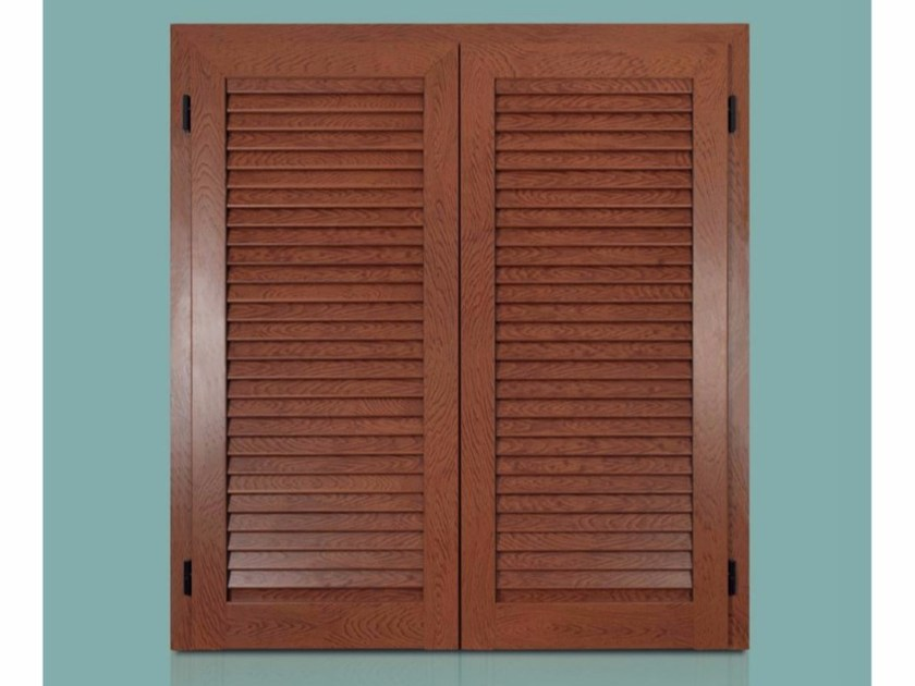 Wooden shutter AURORA FIXED - Cos.Met. F.lli Rubolino