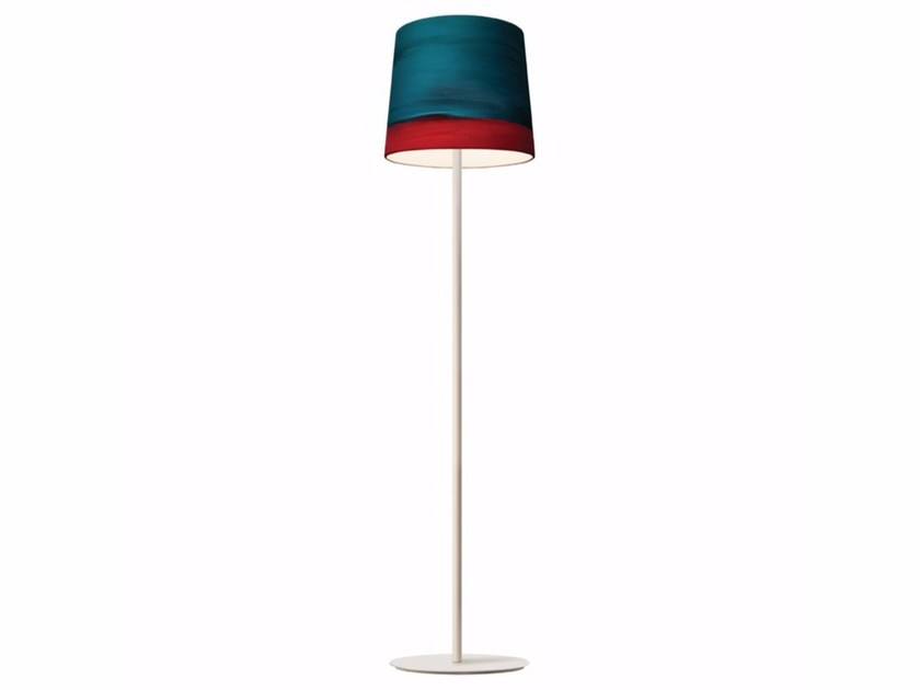 Handmade fabric floor lamp AURORA | Floor lamp - Mammalampa