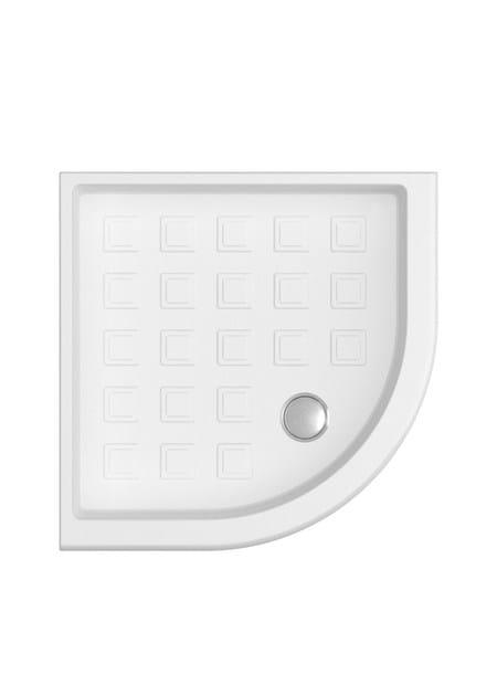 Corner shower tray AURORA | Corner shower tray - GENTRY HOME