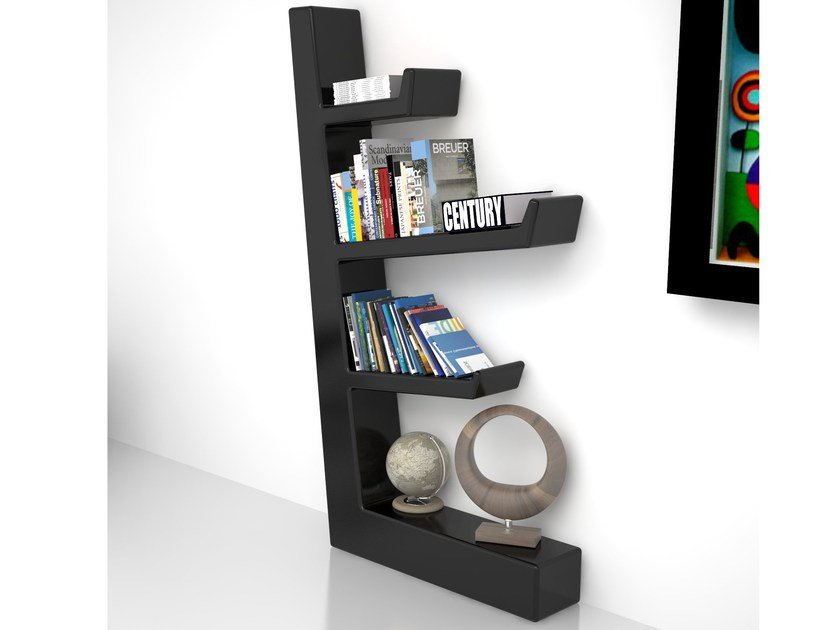 Open Adamantx® bookcase AUSTEN by ZAD ITALY
