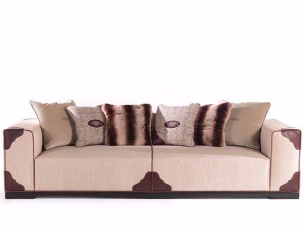 Upholstered 3 seater sofa AUSTIN - Gianfranco Ferré Home