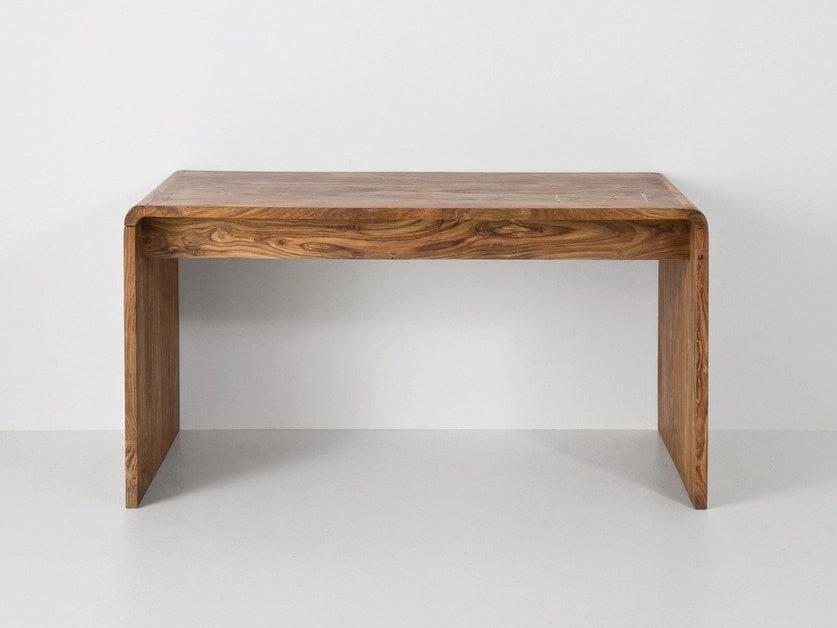 Rectangular wooden writing desk AUTHENTICO   Writing desk - KARE-DESIGN