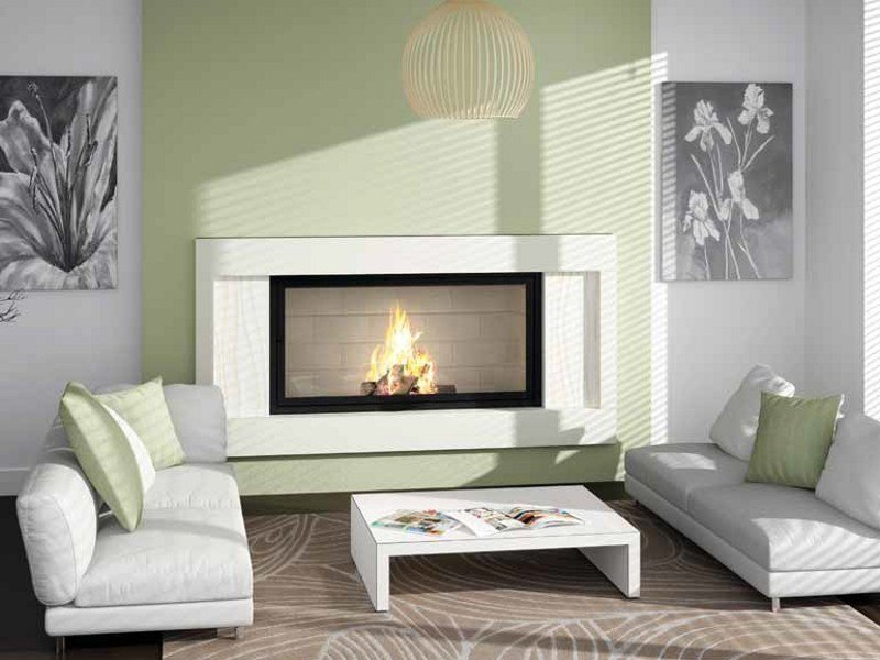 Stone Fireplace Mantel AVA - Axis