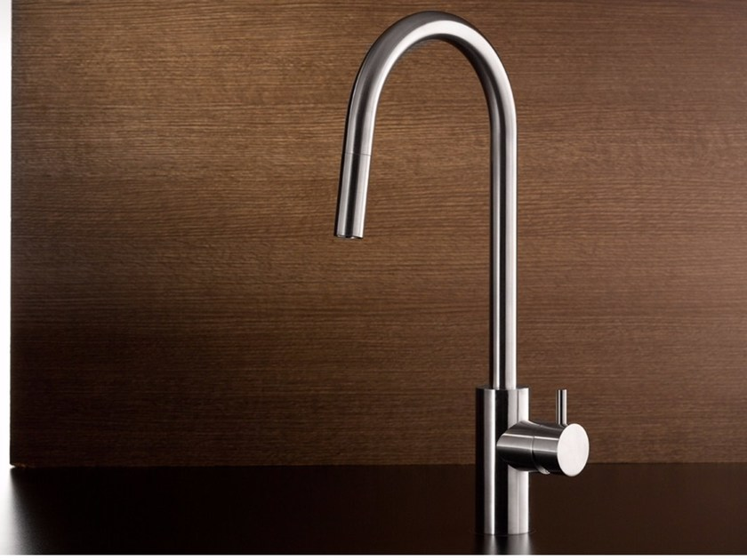 Kitchen mixer tap with pull out spray AVA - MINA