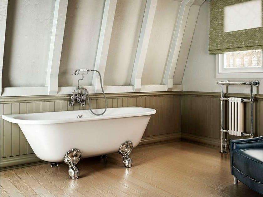 Oval bathtub on legs AVANTGARDE - Polo