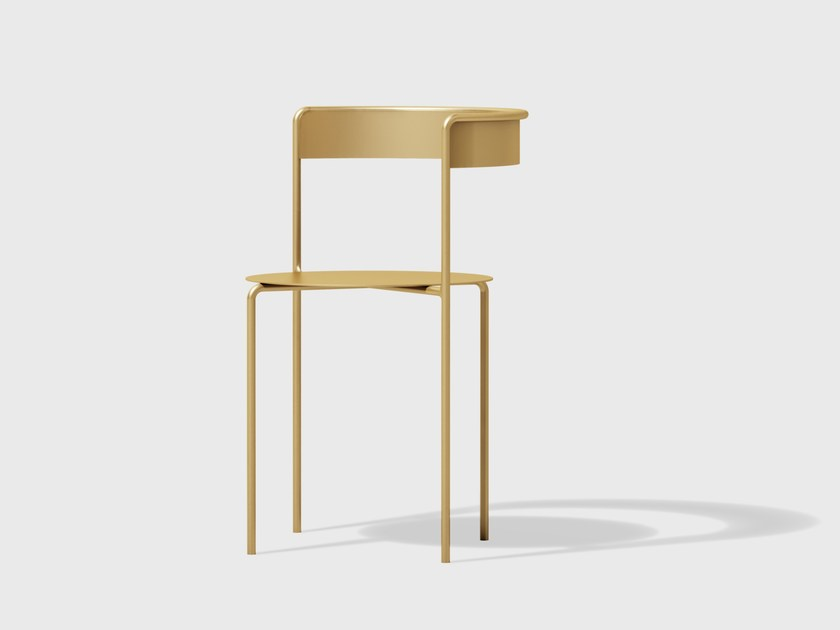 Brass chair AVOA CHAIR | Brass chair by Matter Made