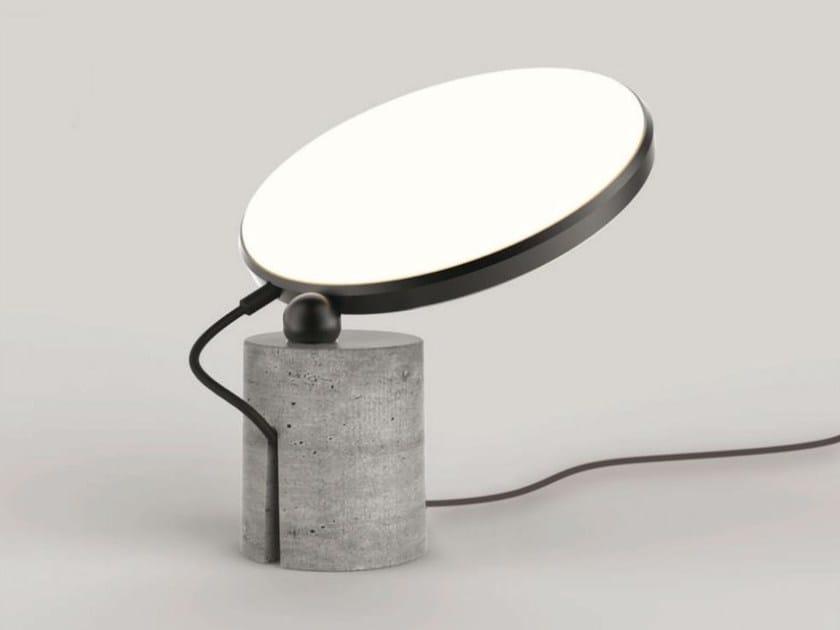 Cement table lamp / floor lamp AVVENI CONCRETE - Sattler