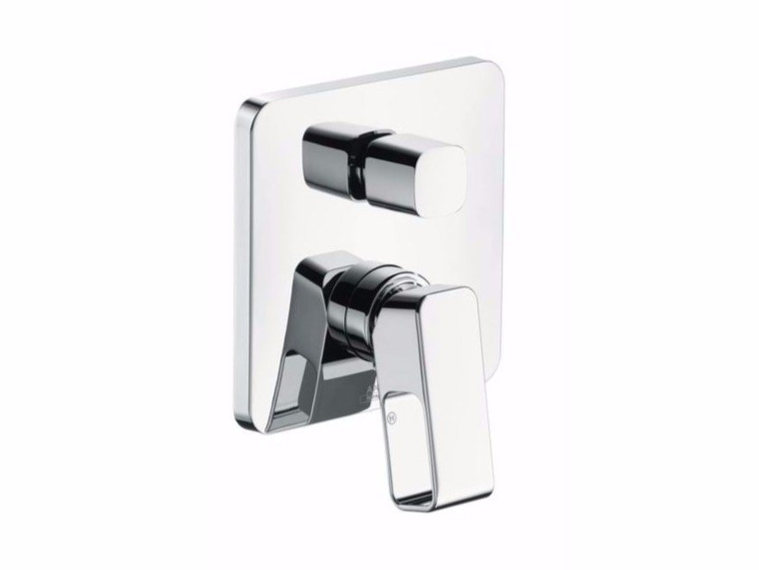 Shower mixer with plate AXOR URQUIOLA | Shower mixer - HANSGROHE