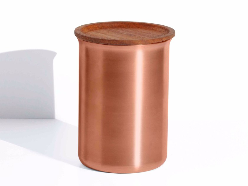 Food-storage box AYASA | Copper food-storage box by Tiipoi