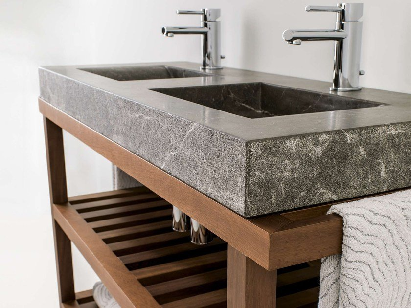 Double console sink AZRAMA VANITY | Double vanity unit - L'Antic Colonial
