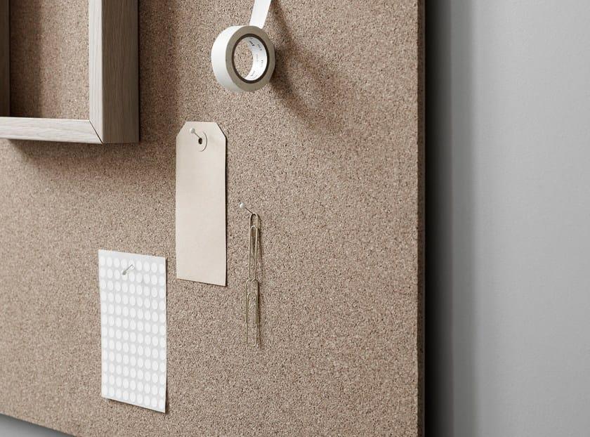 Wall-mounted office whiteboard Air Cork - Lintex