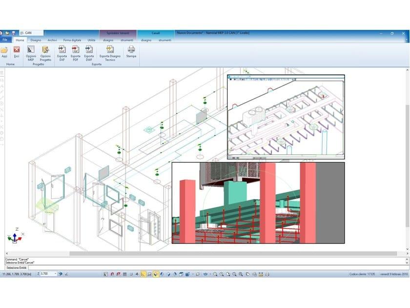 Software per progettazione integrata degli impianti ad for Software di progettazione edilizia
