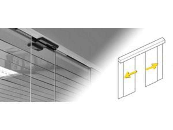 Sliding door / exterior / indoor / glass All glass - Gilgen Door Systems