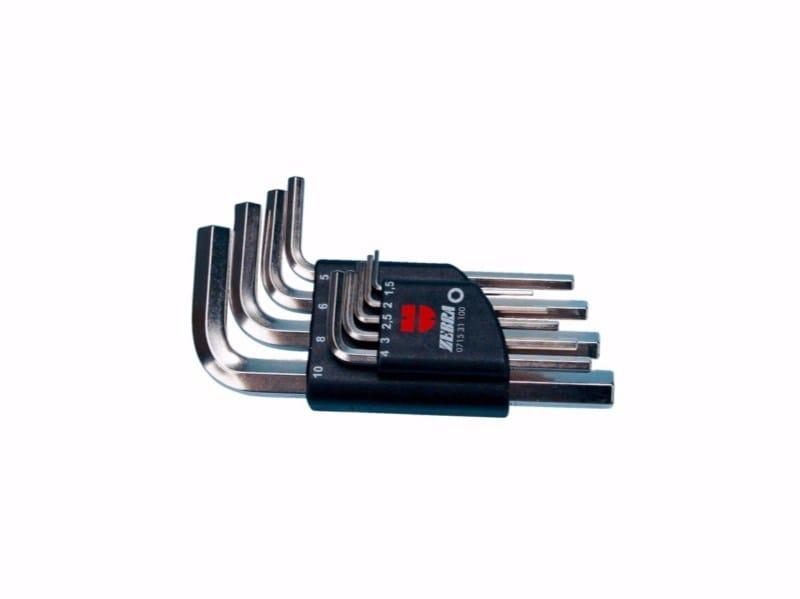 Allen key sliding set short Allen key sliding set short 9 pcs. - Würth