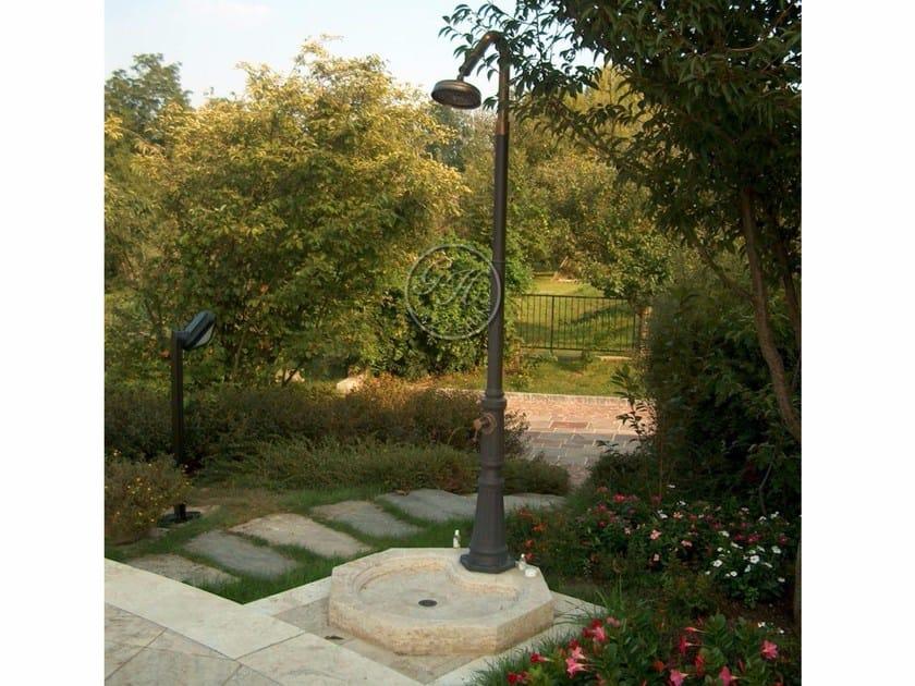 Aluminium outdoor shower Aluminium outdoor shower - Garden House Lazzerini