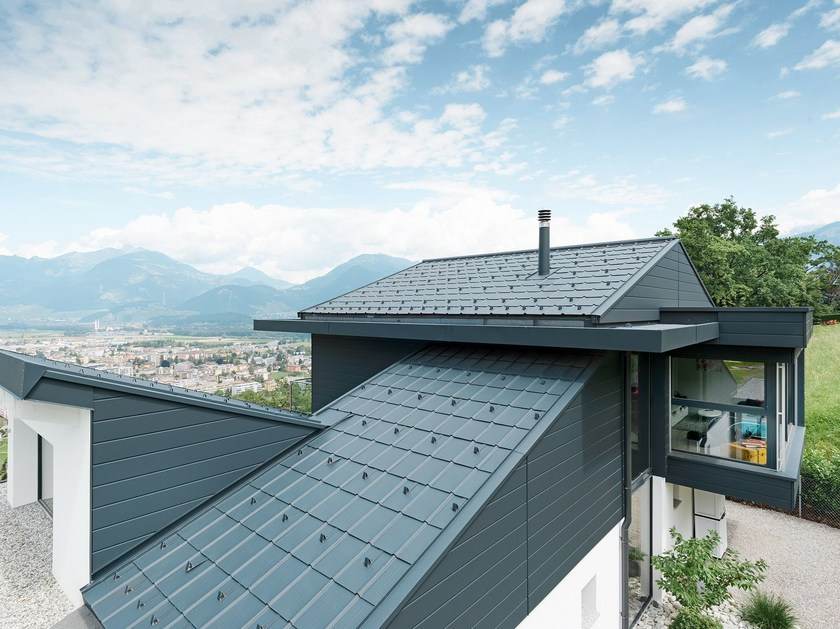 Aluminium roof tile Aluminium roof tile - PREFA ITALIA