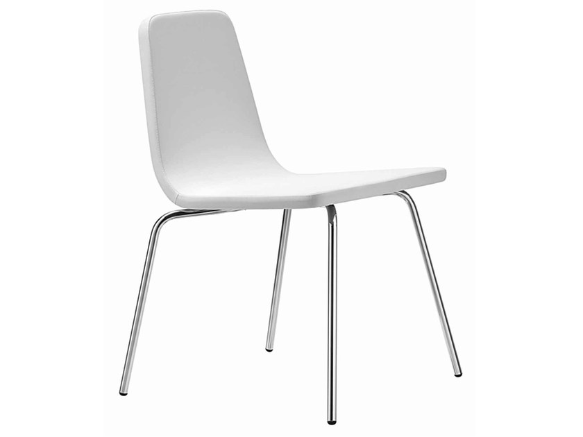 Upholstered stackable chair Aqua 158 - Metalmobil