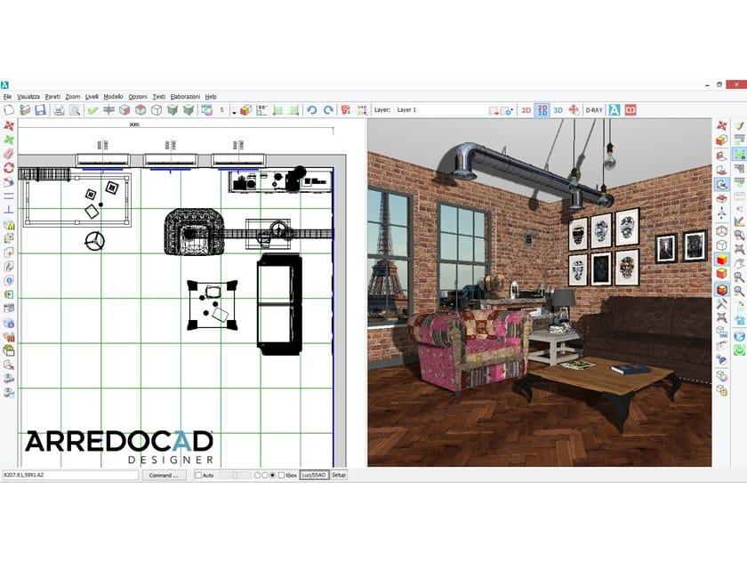 Software 3d per progettazione di interni arredocad for Progettazione interni software
