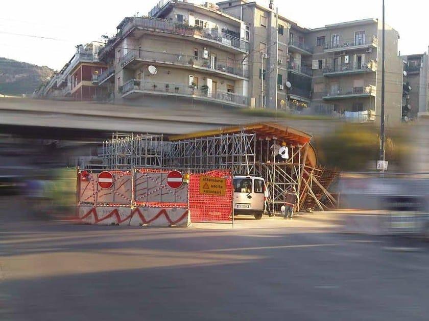 In situ concrete loadbearing masonry system Attrezzature per cavalcavia by Condor