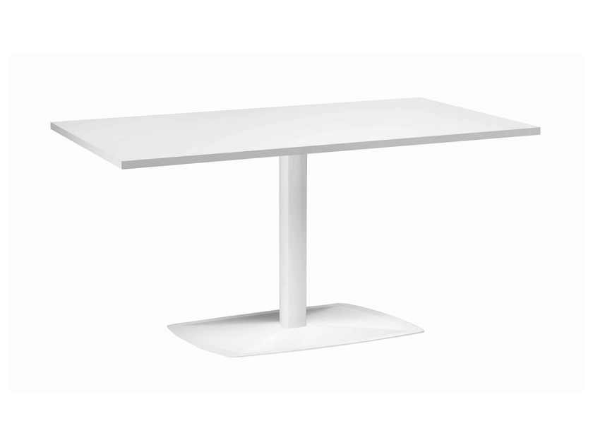 Rectangular metal table Ax 514 - Metalmobil