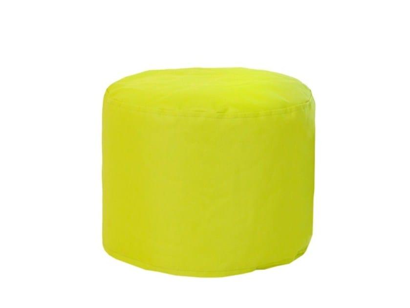 Upholstered fabric pouf B!SPOT - SMV Sitz- und Objektmöbel