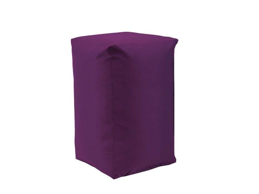 Upholstered fabric pouf B!STOOL - SMV Sitz- und Objektmöbel
