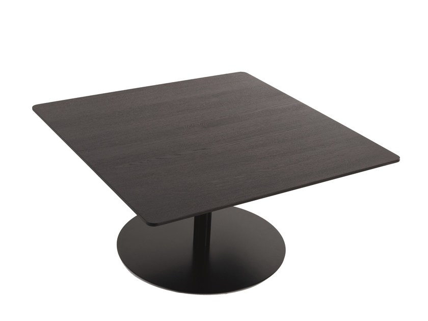 Square wooden side table B14 | Square coffee table by more