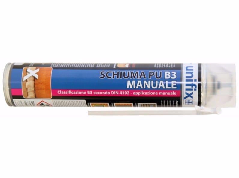 Polyurethane foam B3 - MANUAL - Unifix SWG
